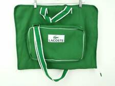 Lacoste Travel Garment Bag Kelly Green Weekender Suit Satchel