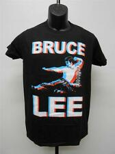 "NEW BRUCE LEE ""FLYING KICK"" T-SHIRT MENS SIZE S SMALL  65SF"