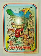 #92 Junk Food Jimmy 1988 Leaf Awesome All-stars Baseball Card E3-8