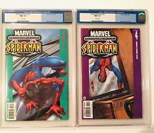 Ultimate Spider-Man #3 & 4 CGC 9.6  Bendis, Bagley Marvel Comics 2000