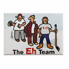 Grimm Eh Team Canadian Guys White Refrigerator Kitchen Magnet Made in Canada New