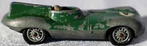 """Vintage Matchbox Lesney Green body with """"41"""" decal Black Plastic & Wire Wheels"""