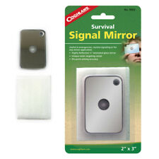 """SIGNAL MIRROR 3 1//4/"""" X 4 1//4/"""" STAINLESS STEEL MIRROR-UNBREAKABLE-MULTI-USES"""