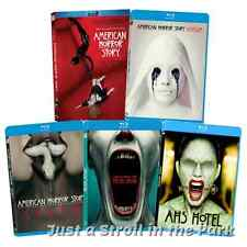 American Horror Story AHS TV Series Complete Seasons 1 2 3 4 5 Box/BluRay Set(s)