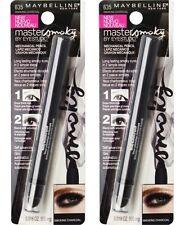 2 x MAYBELLINE EYE STUDIO EYE LINER 635 SMOKING CHARCOAL 100%25 Brand New