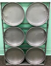 Cake Pan 6 Mold Strapped Style Round