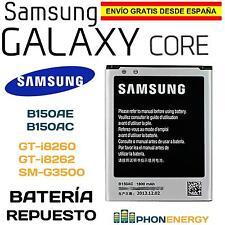 BATERIA PARA SAMSUNG GALAXY CORE GT-i8260 i8262D B150AE B150AC 1800mAh