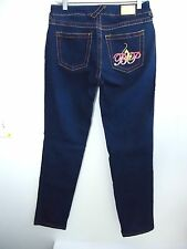 Baby Phat Jeans Dark Blue Denim Jeans Size 5 - mint condition!