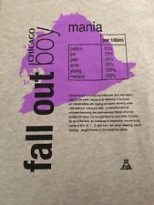 Fall Out Boy Mania Tour Chicago Women's Medium T Shirt