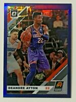 2019-20 Panini Optic Deandre Ayton Purple Holo #145 Phoenix Suns