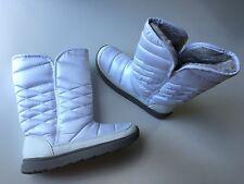 NIB Tek Gear® Women's Venus White Mid-Calf Puff Winter Boots Size 7