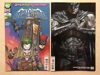 DETECTIVE COMICS # 1025 Lot (2020) — Covers A & B Variant BATMAN JOKER WAR — NM