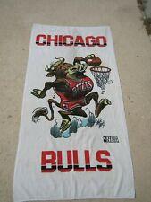 Vintage 90s chicago bulls 60x30 beach towel basketball NBA rare pool air jordan