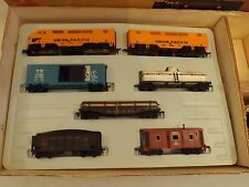 HO Marx #9947 Allstate Union Pacific freight set in original box