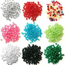 4mm Pearl Beads Plastic 7g Craft Factory