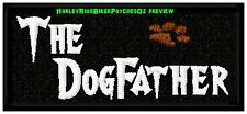 THE DOGFATHER - PET BIKER PATCH