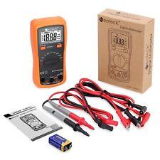 Digital Multimeter Fluke Meter Volt Tester Electric Ohm Ac DC Rms AutoRange New