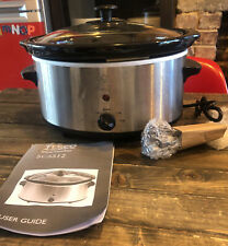 Tesco SCSS12 3 Litre Stainless Steel Slow Cooker