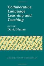 Collaborative Language Learning and Teaching by Nunan, David