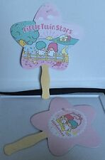 SDCC 2015 Hello Kitty Little Twin Stars Paper Fans Set Of 2