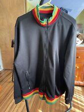 Rude Rasta Jacket XL One Love Bob Marley