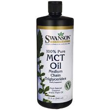 Swanson 100% Pure Mct Oil 32 fl oz (946 ml) Liquid