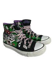 Converse Chuck Taylor Women Sz 6 Mens Sz 4 All Star Jokers Wild High Top Harley