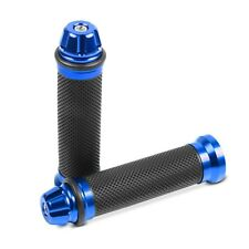 Lenkergriffe Motea 2X blau 22mm für Motorrad, Scooter, Roller Lenker Griffe