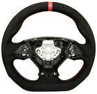 REVESOL Sports Steering Wheel Red Strip for 2014-2019 Chevy Corvette Alcantara  for sale