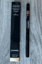 Chanel Stylo Yeux Waterproof Long-Lasting Eyeliner w/ sharpener 911 AMBRE DORE