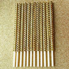 25 Gold Bling Cake Pop Sticks Gold Rhinestone Cake Pop Sticks
