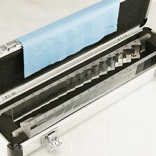 New Optical Prism Bar Set - Prism Bars Horizntal & Vert Aluminum Case