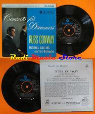 LP 45 7'' RUSS CONWAY MICHAEL COLLINS Concert for dreamers no.2 MONO cd mc dvd