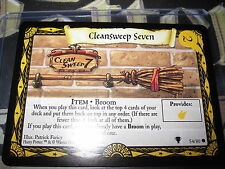 HARRY POTTER TRADING CARD QUIDDITCH CUP TCG CLEANSWEEP SEVEN 54/80 COM EN MINT