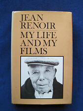 MY LIFE & MY FILMS - SIGNED by JEAN RENOIR The Great Film Director's Memoirs