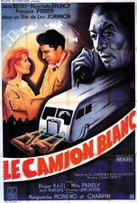 Leo Joannon Le camion blanc Jules Berry movie poster
