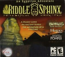 Riddle of the Sphinx (Jewel Case) - Pc - Windows 2000,Windows Nt,Mac,Unix - Eac