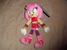 amy sonic the hedgehog plush TOMY sonic boom toy nwt