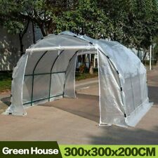 Greenhouse for Garden Outdoor Flower Plant Keep Warm Cover PE Plastic Roll-up
