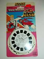 * SEALED * MASK 1986 VIEWMASTER REELS SET 1056 RARE MINT KENNER   G360