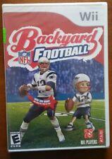 NINTENDO WII BACKYARD FOOTBALL NFL FACTORY SEALED