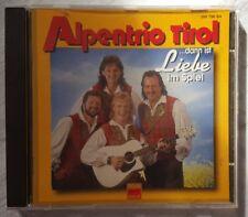 Alpentrio Tirol - ... dann ist Liebe im Spiel CD 1995
