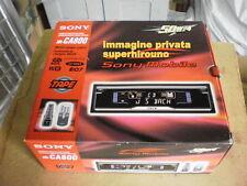 Autoradio SONY - MOD. XR - CA - 800/ 4X50 WATT - 4 OHM -TAPE-RADIO-CHARGE CD.