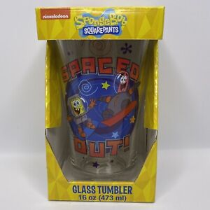 Nickelodeon SpongeBob SquarePants Spaced Out! 16 oz. Pint Glass Tumbler Cup