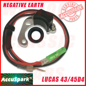 Land Rover Series 2 &3  AccuSpark Electronic Ignition Conversion For Lucas 45D