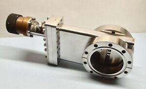 MDC GV-3000V UHV 4.625 CF Manual Vacuum Gate Valve Stainless O-ring Bonnet Seal