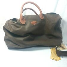 JUMP PARIS UPPSALA COLLECTION - CARRY-ON DUFFEL Chocolate Brown cabin size