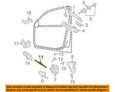 VW VOLKSWAGEN OEM 98-05 Passat Front Door-Cable 3U0837085