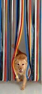 Holland Plastics PVC Strip Door BLIND 80 x 200  MULTI TRAD [6431]END OF LINE