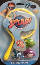 Splash Underwater Fishing Game Set With 3 Fish Summer Fun Water Games Kids